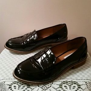 Steve Madden Patent Leather Loafers